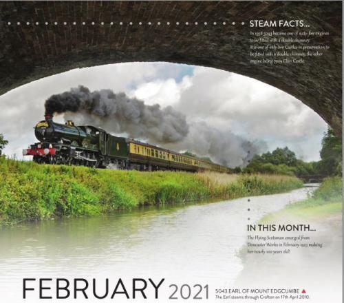 Calendar 2021 February image