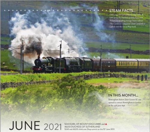 Calendar 2021 June image