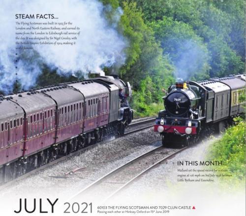 Calendar 2021 July image
