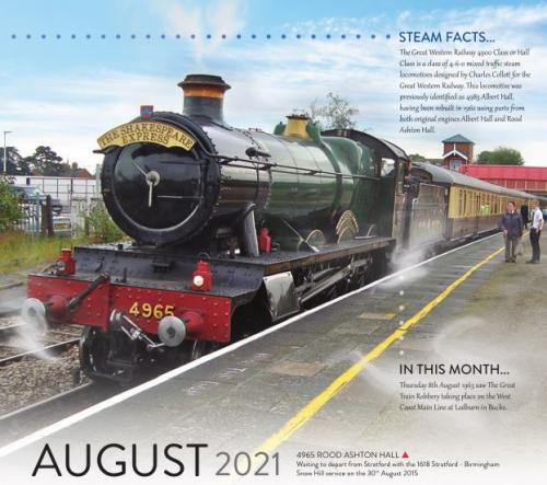 Calendar 2021 August image