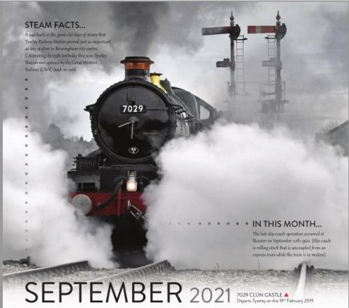 Calendar 2021 September image