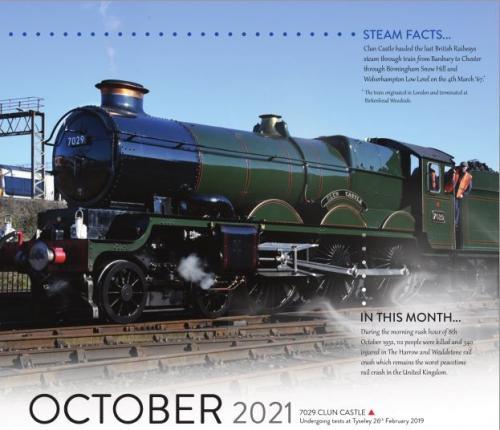 Calendar 2021 October image