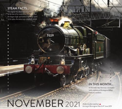 Calendar 2021 November image