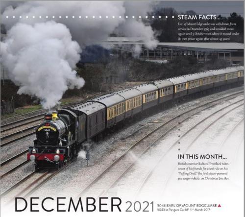 Calendar 2021 December image