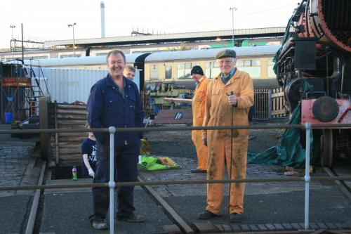 Volunteers at Tyseley