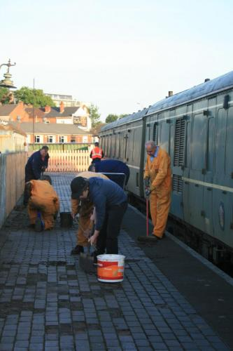 Cleaning coaches